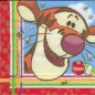 Preview: Serviette - Disney - Winnie the Pooh - Tigger - Comic - ganzes Motiv - co074