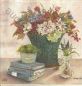Preview: Serviette - Stilleben - Blumenvase - Kanne - still life - cream - vv290