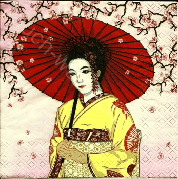Geisha - Asien - Tradition - Japan - Frau - af074