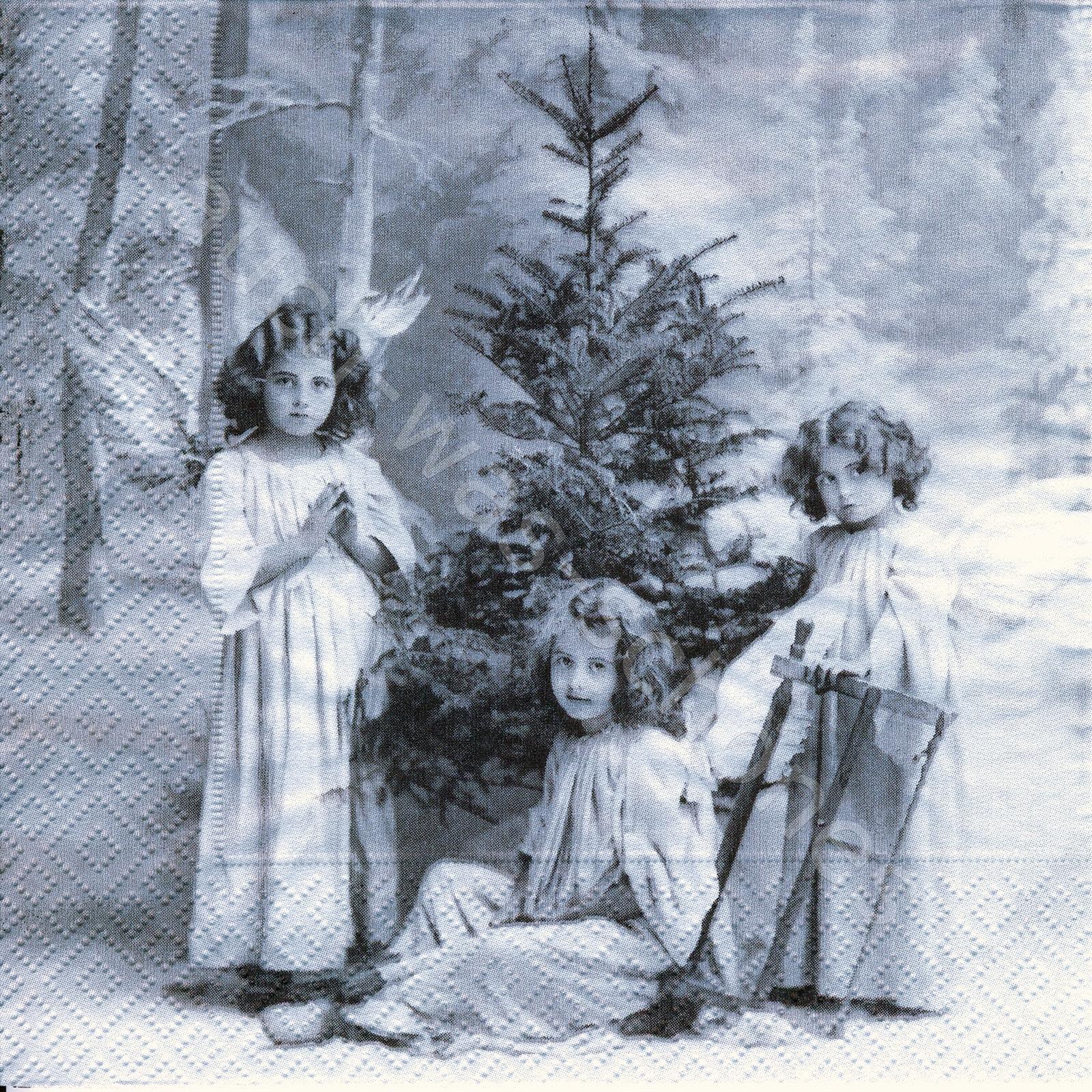 servietten basteln sammeln engel weihnachten. Black Bedroom Furniture Sets. Home Design Ideas
