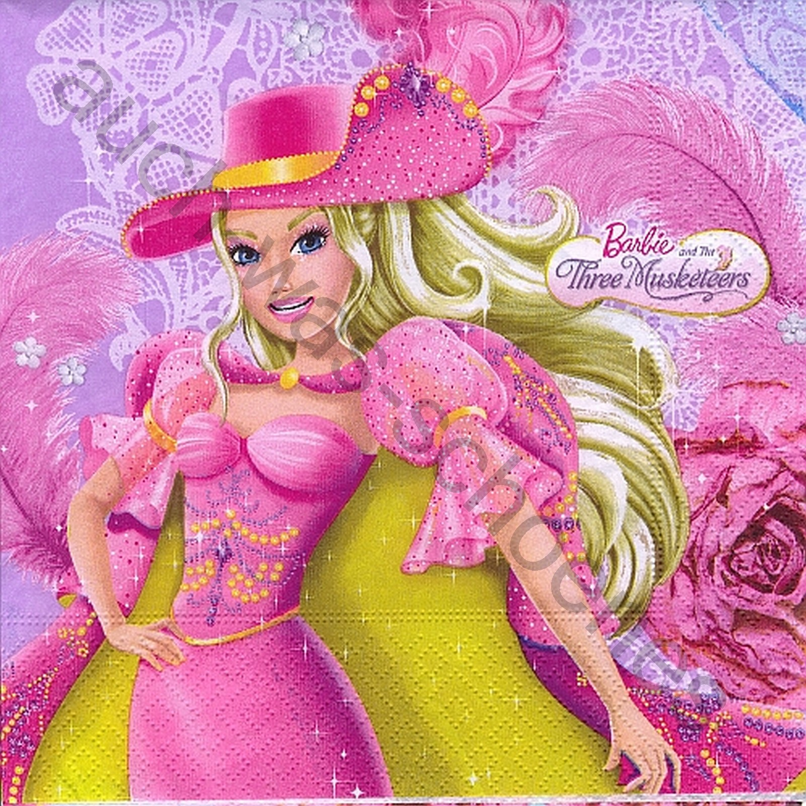 Puppe Barbie Spielzeug Musketier Katze Cat Chat Ki109