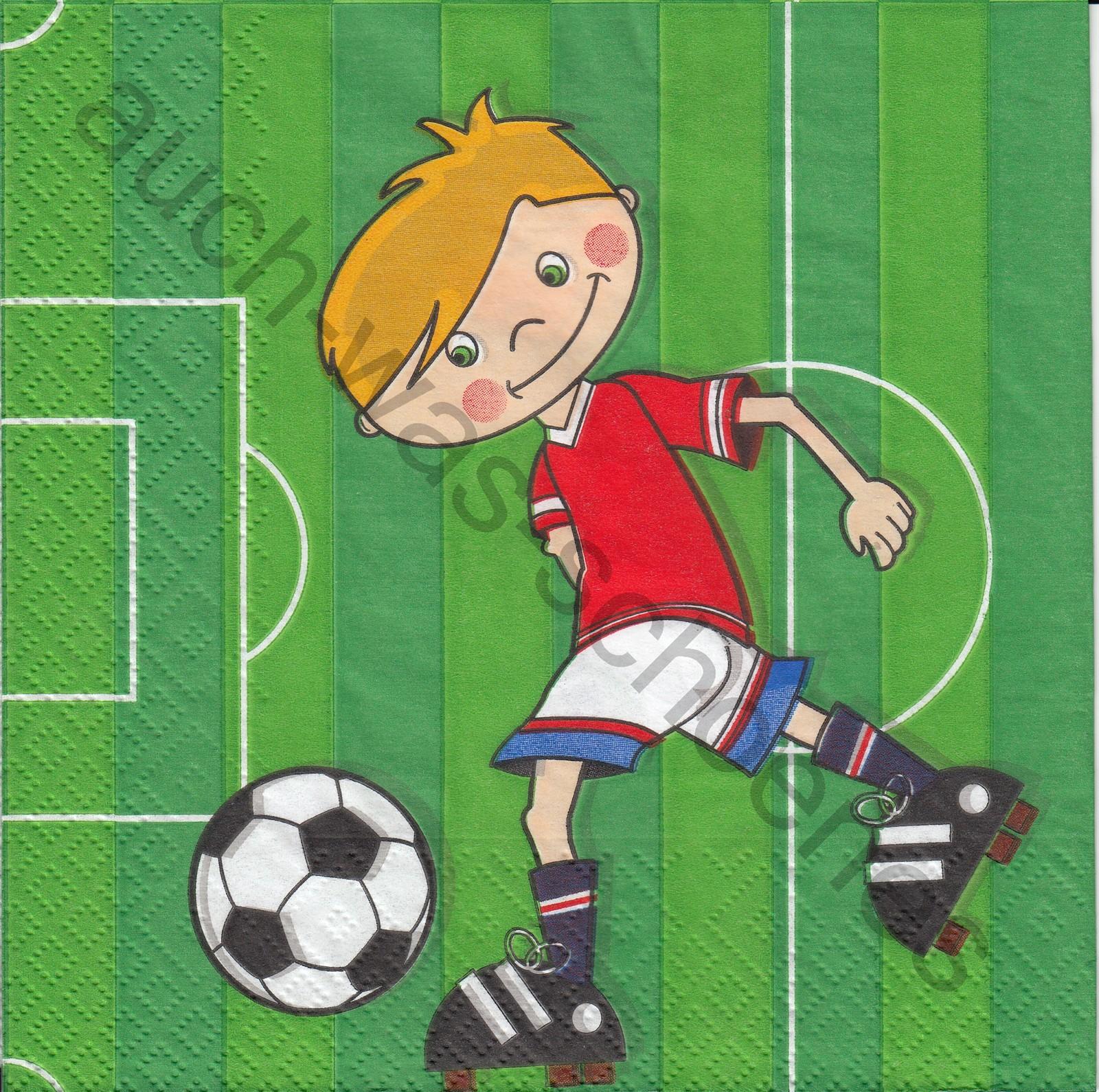 Fussballer Sport Kinder Fussball Jungen Ki125